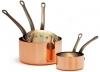 Kasserolle speziell für Gas, glattes Kupfer